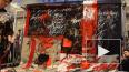 Покрас Лампас устроил в ДЛТ красочный перфоманс