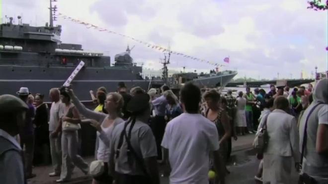 Петербург отмечает День Военно-морского флота