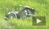 Видео из Бурятии: Легковушку в ДТП с фурой разорвало пополам, водитель и пассажир чудом остались живы