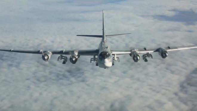 Минобороны: Ту-95 пролетели над Японским и Желтым морями
