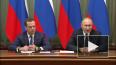 Путин рассказал об обсуждении с Медведевым отставки ...