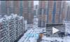 Петербург накрыл апрельский снегопад: осадки не собираются таять