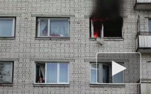 Пожар в Сосновом бору: газ взорвался, дом треснул