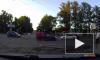 Появилось видео смертельного ДТП в Пензе с участием мотоциклиста и иномарки