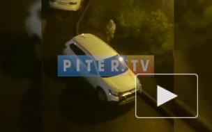Пенсионерка прошлась тростью по припаркованным иномаркам во дворе на Маршала Захарова