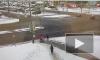 К месту ДТП на перекрестке Туристской и Богатырского приезжали две машины реанимации