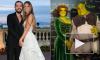 Супермодель Хайди Клум и ее возлюбленный стали Шреком и Фионой на Хэллоуин