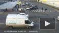 Момент наезда на пешеходов на пересечении Лермонтовского ...