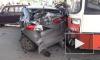 ДТП с автобусом в Перми: пострадало 15 машин и два человека