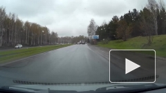 Водитель Geely протаранил Nissan и скрылся с места ДТП в Кемерове