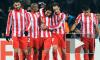 «Атлетико» Мадрид победил «Ганновер-96» в четвертьфинале Лиги Европы и прошел на «Валенсию»