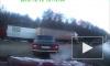Под Брянском на пешеходном переходе погибла женщина (видео)