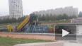 Видео: в Петербурге начали очищать реку Смоленку
