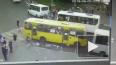 В Мытищах автобус снес на оживленном переходе пешеходов
