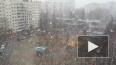 МЧС предупреждает петербуржцев о сильном ветре и снегопа...
