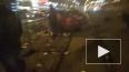 В Петербурге автомобиль влетел в трамвайную остановку, ...