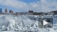 Фото и видео замерзшего Ниагарского водопада стало ...