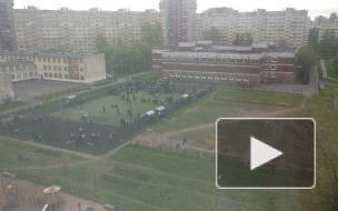 Большая перемена. Эвакуация снова затронула петербургские школы