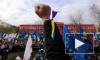 Украинцы блокировали спецназ, который шел подавлять евромайдан