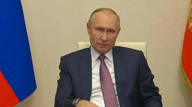 Путин призвал как можно быстрее уйти от антикризисных мер