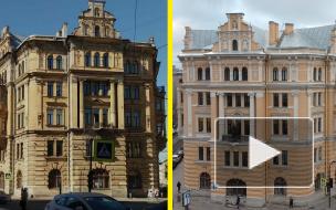 Фасады доходного дома Галунова отремонтировали впервые за 140 лет: взгляд Piter.TV