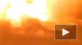 Момент взрыва на заправке в Кропивницкий попал на видео