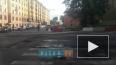 Появилось видео дорожных работ на 16-17 линиях В.О.