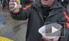 Пьяный сторонник Путина пытался избить блогера и надеть ему на голову миску с кашей