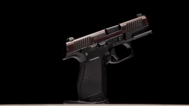 Новый пистолет для полиции показали на видео