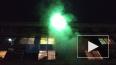 ВИДЕО: Пожар в общежитии СПБГУКИ на Ланском шоссе