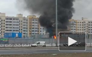 На Суздальском шоссе потушили вспыхнувшие строительные вагончики