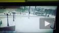 В Барнауле легковушка сбитая автобусом сбила 2 людей
