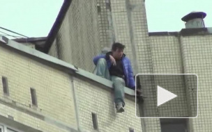 В Петербурге поймали самоубийцу, который прыгал с девятого этажа