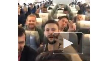 """В сети появилось видео из самолета """"Шапекоэнсе"""" перед падением"""