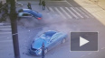Видео: BMW на Невском проспекте въехал в толпу