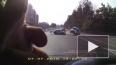 Появилось видео с моментом столкновения ВАЗ-2109 и скоро...