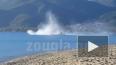 Появилось видео падения вертолета в Греции, рухнувшего ...