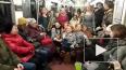 """В первый день весны петербургское метро охватила """"Пеппим..."""