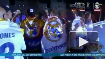 """Игроки """"Реала"""" и болельщики передали привет Пике"""