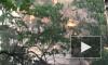 На Железноводской загорелся балкон жилого дома