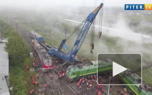 """Стала известна причина столкновения грузовых поездов у станции """"Купчинская"""""""