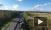 Новый уровень съемки ДТП: пробку после аварии сняли с беспилотника