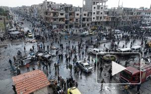 Устрашающие цифры: в Сирии произошёл двойной теракт, утопивший город в крови 42 жертв