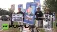 В Вашингтоне прошел пикет в поддержку Брэдли Мэннинга