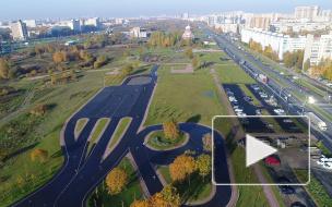 Городские открытия: первая лыжероллерная трасса в Петербурге