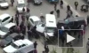Появилось видео из Махачкалы: Бронированный джип протаранил маршрутку и сбил насмерть пешехода