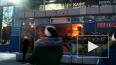 На проспекте Энергетиков загорелось кафе