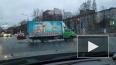 В Калининском районе иномарка столкнулась с фургончиком ...