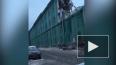 На Аптекарском проспекте появился забор у опасного ...