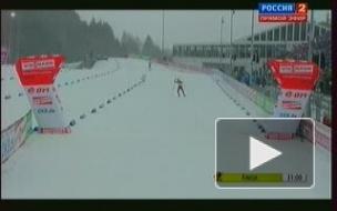 Золото гонки преследования по биатлону в Чехии у Туры Бергер